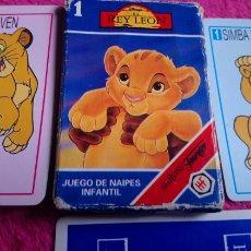 Jeux de cartes: EL REY LEÓN 1. FOURNIER. 31/33 CARTAS. Lote 168488338