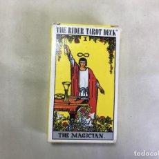 Barajas de cartas: CARTAS DEL TAROT - THE MAGICIAN. Lote 168602120