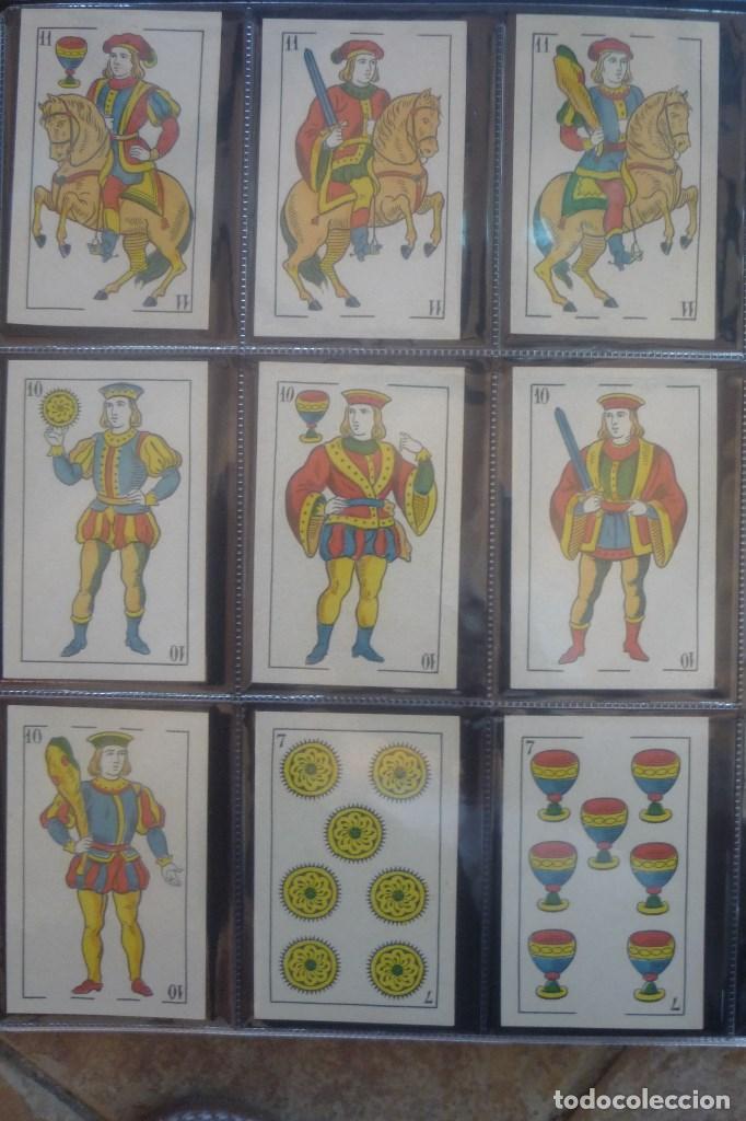 Barajas de cartas: COMAS 1896. BARAJA 40 CARTAS. PERIQUITO CON CRISTOBAL MASSÓ EN EL 4 DE COPAS. 4 DE OROS CON....... - Foto 2 - 168638040