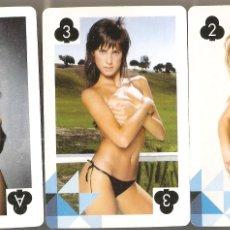 Barajas de cartas: BARAJA, VECINITAS FHM, EROTICA, 52 + 2 JOKER, VER FOTO. Lote 168922800