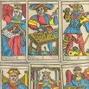 Barajas de cartas: ARCANOS MAYORES DE MARSELLA COMPLETOS BUEN ESTADO. Lote 168956040