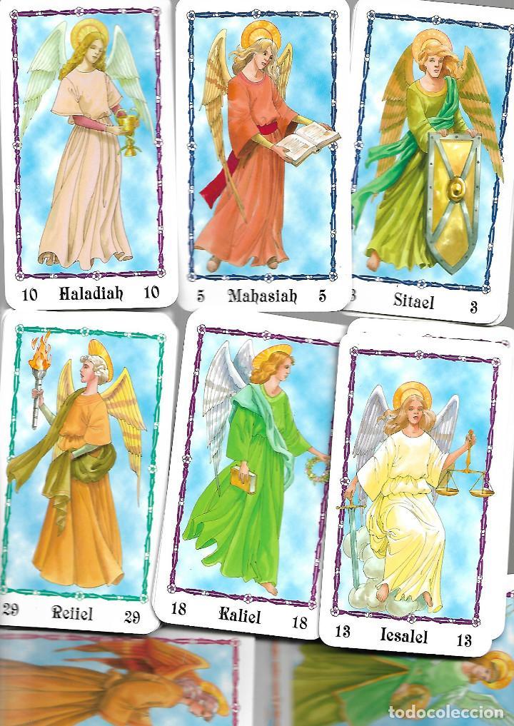 CARTAS DE BARAJA DE TAROT DE LOS ANGELES 72 CARTAS EN BUEN ESTADO (Juguetes y Juegos - Cartas y Naipes - Barajas Tarot)