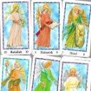 Barajas de cartas: CARTAS DE BARAJA DE TAROT DE LOS ANGELES 72 CARTAS EN BUEN ESTADO. Lote 168959016