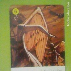 Jeux de cartes: ULISES 31 6 AMARILLO CARTA NAIPE SOLO LA CARTA NO LA BARAJA FOURNIER 1982 JUGADA. Lote 169008612