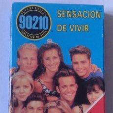 Barajas de cartas: BARAJA DE CARTAS NAIPES FOURNIER 1991 IMPECABLE SIN USO PLAYING CARDS SERIE TV SENSACIÓN VIVIR 90210. Lote 169036156