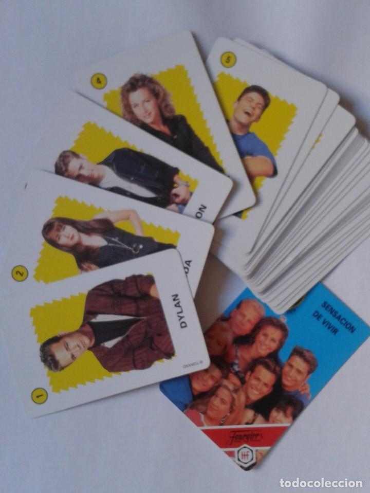 Barajas de cartas: BARAJA DE CARTAS NAIPES FOURNIER 1991 IMPECABLE SIN USO PLAYING CARDS SERIE TV SENSACIÓN VIVIR 90210 - Foto 3 - 169036156
