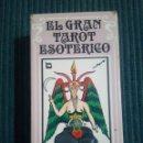 Barajas de cartas: BARAJA DE TAROT COMPLETA EL GRAN TAROT ESOTERICO FOURNIER DIBUJOS DE LUÍS PEÑA. Lote 169151056