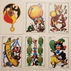 Barajas de cartas: BARAJA 'ESTAMPAS CÓMICAS'. 48 CARTAS.. Lote 169231389