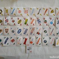 Mazzi di carte: BARAJA TELEKITOS DEL MOTOR COMPLETA MARCAS DE COCHES Y MOTOS 1992 CROMOS CARTAS. Lote 190038258