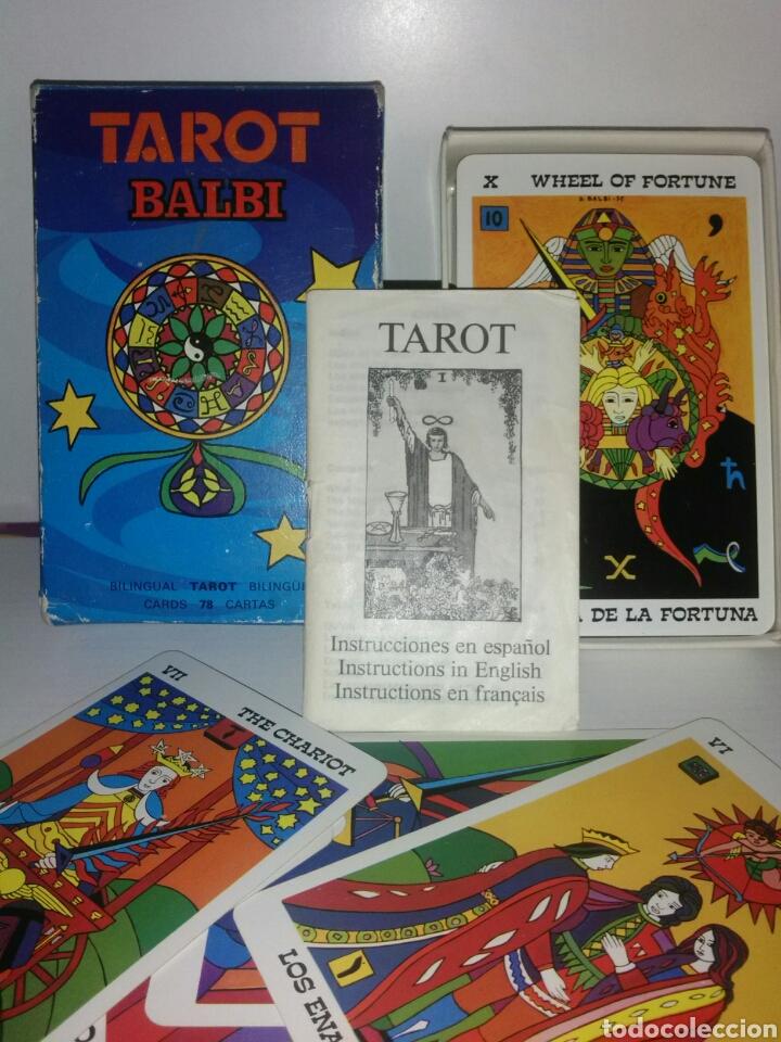 TAROT BALBI.FOURNIER. CARTAS. (Juguetes y Juegos - Cartas y Naipes - Barajas Tarot)