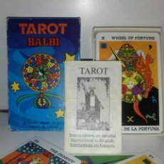 Barajas de cartas: TAROT BALBI.FOURNIER. CARTAS.. Lote 169319277