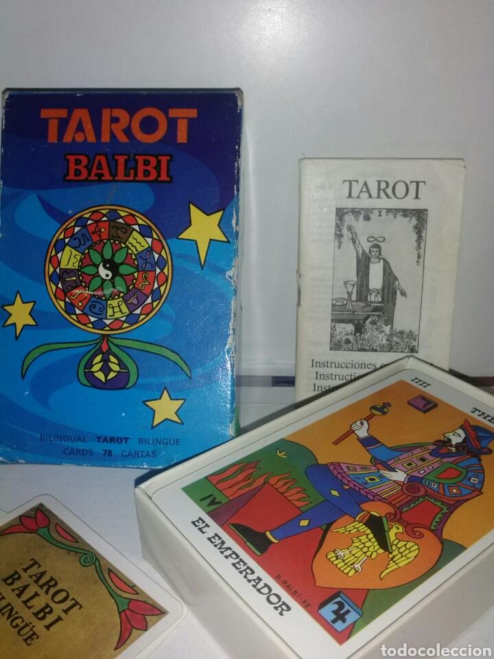 Barajas de cartas: TAROT BALBI.FOURNIER. CARTAS. - Foto 2 - 169319277