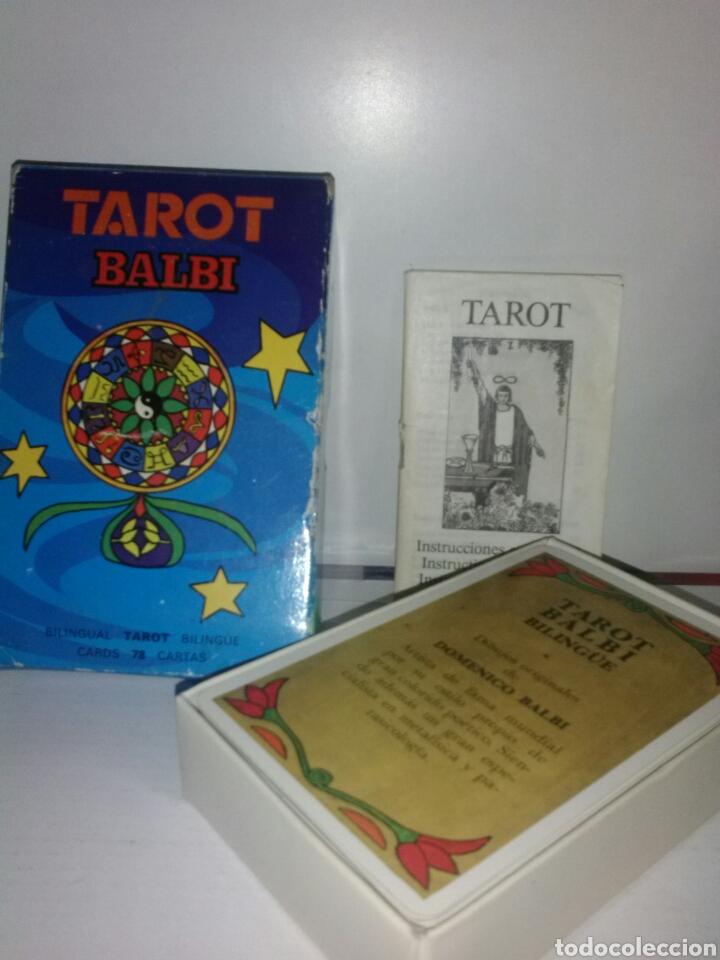 Barajas de cartas: TAROT BALBI.FOURNIER. CARTAS. - Foto 5 - 169319277