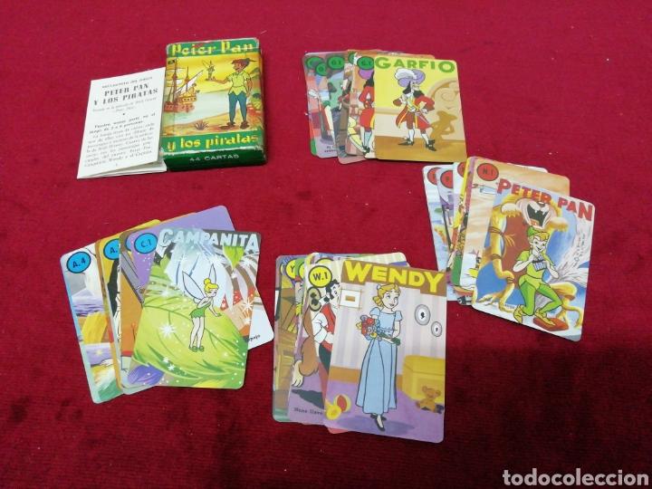 ANTIGUO JUEGO DE CARTAS PETER PAN Y LOS PIRATAS. COMPLETO. MARCA FOURNIER. (Juguetes y Juegos - Cartas y Naipes - Barajas Infantiles)