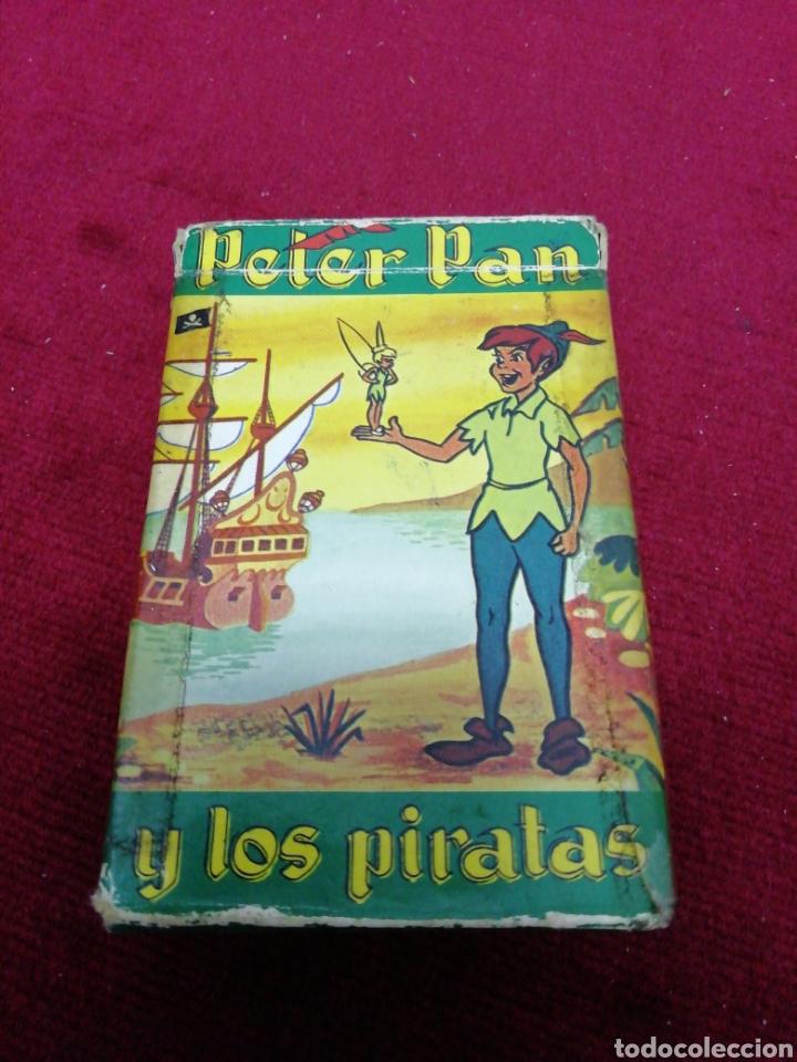 Barajas de cartas: Antiguo juego de cartas Peter Pan y los piratas. Completo. Marca Fournier. - Foto 2 - 169397014