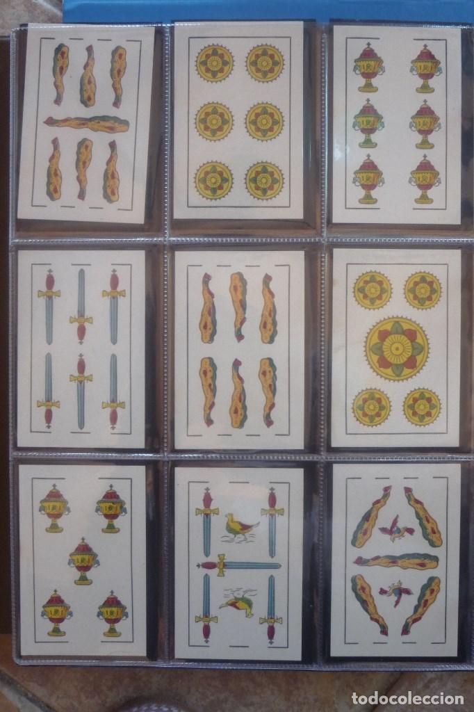 Barajas de cartas: HIJO DE TORRAS Y LLEÓ-BARCELONA. BARAJA ANTIGUA MUY RARA. 48 CARTAS COMPLET. LEYENDA CON LEÓN ENTRE - Foto 4 - 169448376