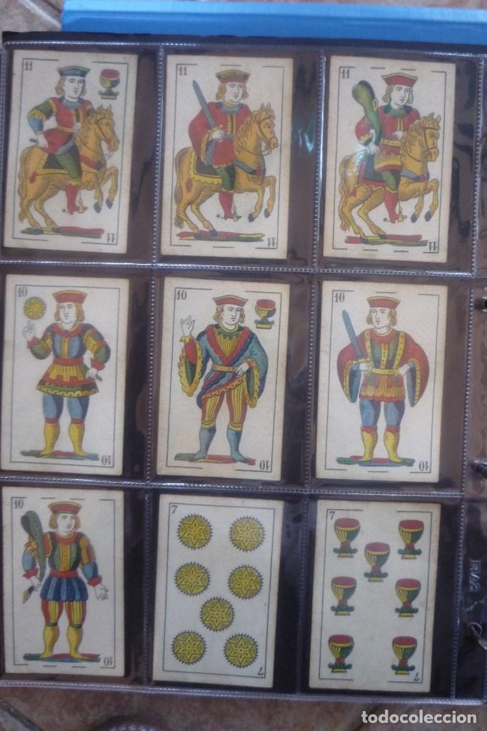 Barajas de cartas: SEBASTIÁN COMAS Y RICARD. ANTIGUA Y MUY RARA. 4O CARTAS COMPLETA. CIERVO CORRIENDO CON S.C. Y R. EN - Foto 2 - 169453396