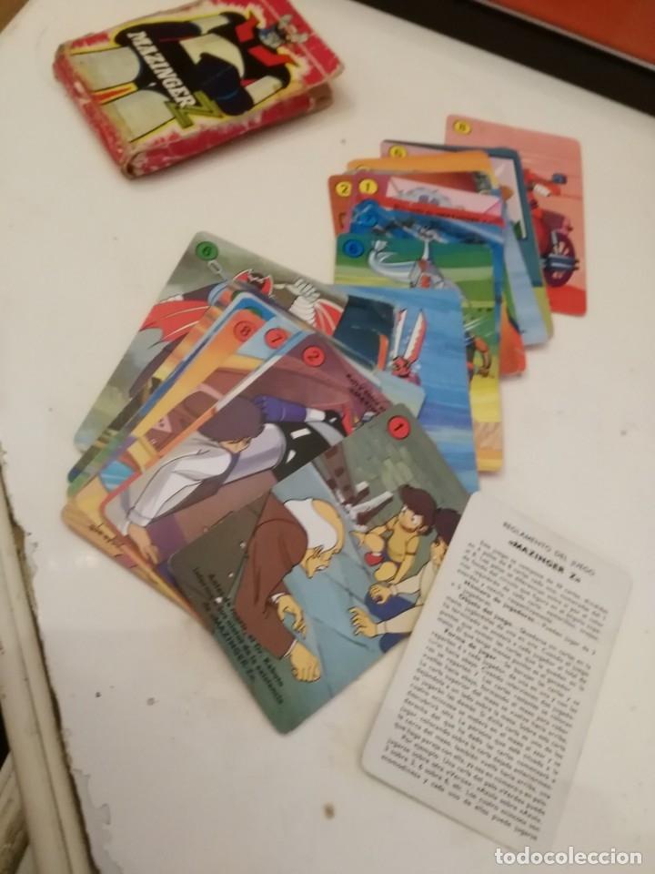 MAZINGER Z /-CARTAS NAIPES HERACLIO FOURNIER - ORIGINAL BARAJA AÑOS 70!!!! (Juguetes y Juegos - Cartas y Naipes - Barajas Infantiles)