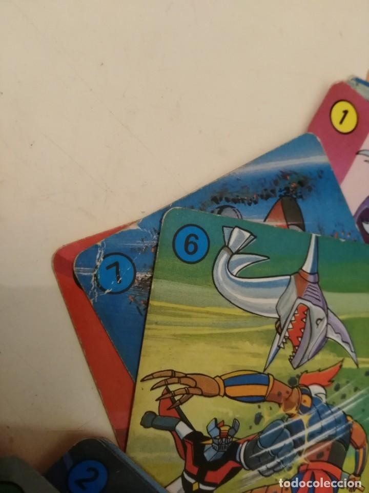 Barajas de cartas: MAZINGER Z /-CARTAS NAIPES HERACLIO FOURNIER - ORIGINAL BARAJA AÑOS 70!!!! - Foto 2 - 169470744