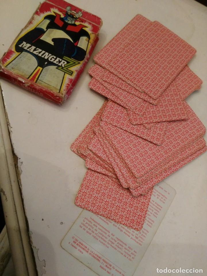Barajas de cartas: MAZINGER Z /-CARTAS NAIPES HERACLIO FOURNIER - ORIGINAL BARAJA AÑOS 70!!!! - Foto 4 - 169470744