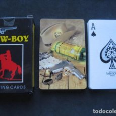 Barajas de cartas: BARAJA POKER COW - BOY. PUBLICIDAD WHISKY CUTTY SARK. Lote 169733796