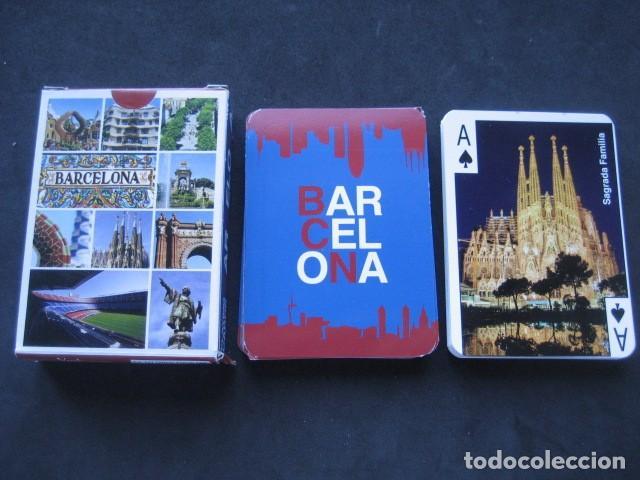 BARAJA POKER. BARCELONA (Juguetes y Juegos - Cartas y Naipes - Barajas de Póker)