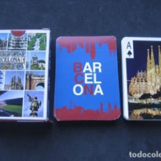 Barajas de cartas: BARAJA POKER. BARCELONA. Lote 169733952