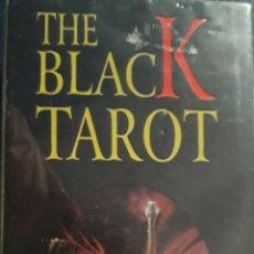Barajas de cartas: BARAJA DE TAROT DE FOURNIER: THE BLACK TAROT EN IMPECABLE ESTADO: PRECINTADA/SIN ESTRENAR.. Lote 169797024