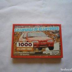 Barajas de cartas: HERACLIO FOURNIER 1000 KM CANASTA. Lote 169808532