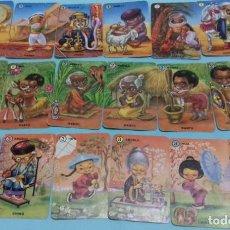 Baralhos de cartas: BARAJA FAMILIAS DE SIETE PAÍSES. FOURNIER. LA DE LOS AÑOS 60. COMPLETA 42 CARTAS, CON SU CAJA.. Lote 169835028