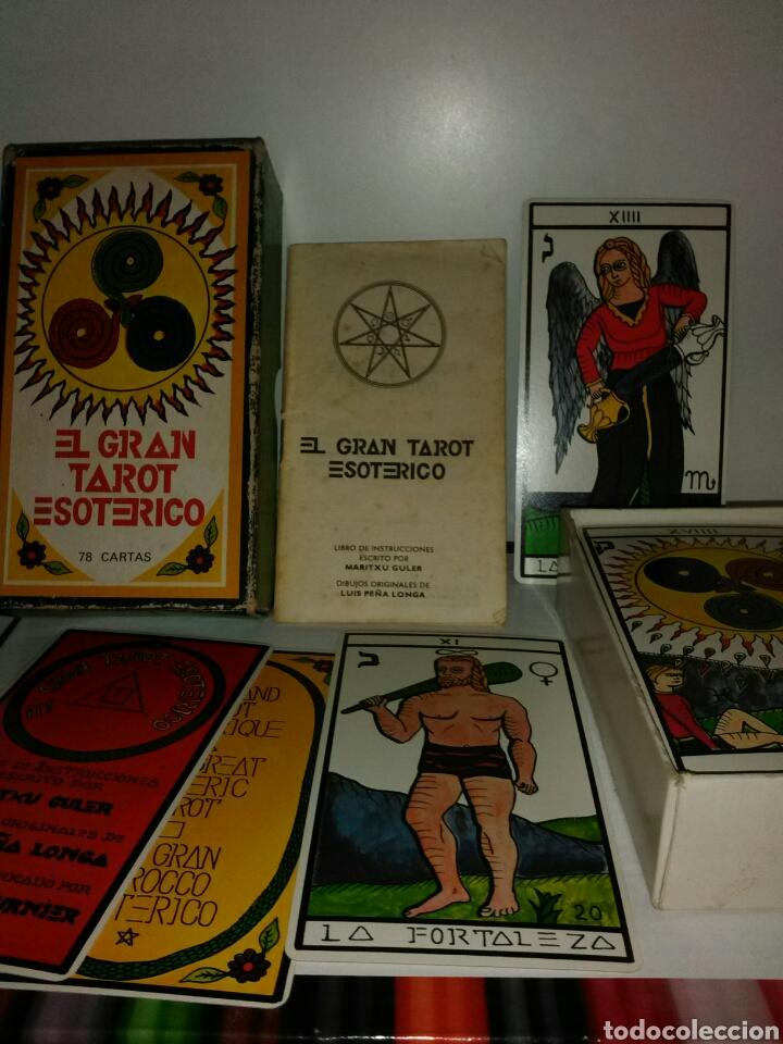 GRAN TAROT ESOTÉRICO. (Juguetes y Juegos - Cartas y Naipes - Barajas Tarot)