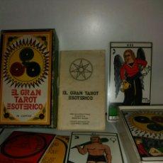 Barajas de cartas: GRAN TAROT ESOTÉRICO.. Lote 160473954