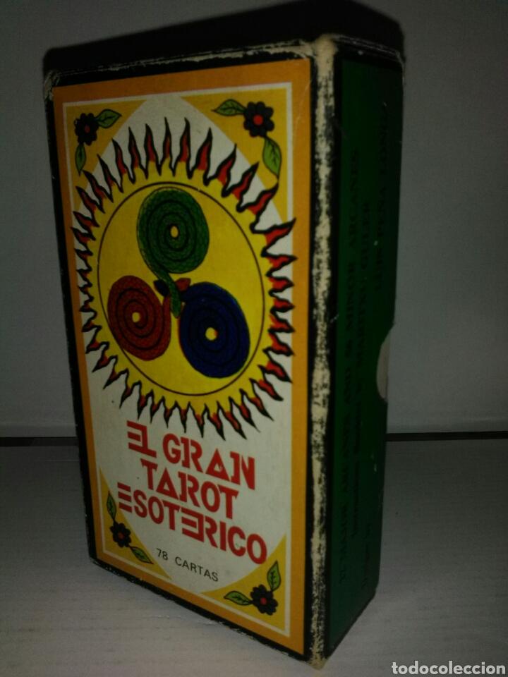 Barajas de cartas: GRAN TAROT ESOTÉRICO. - Foto 4 - 160473954