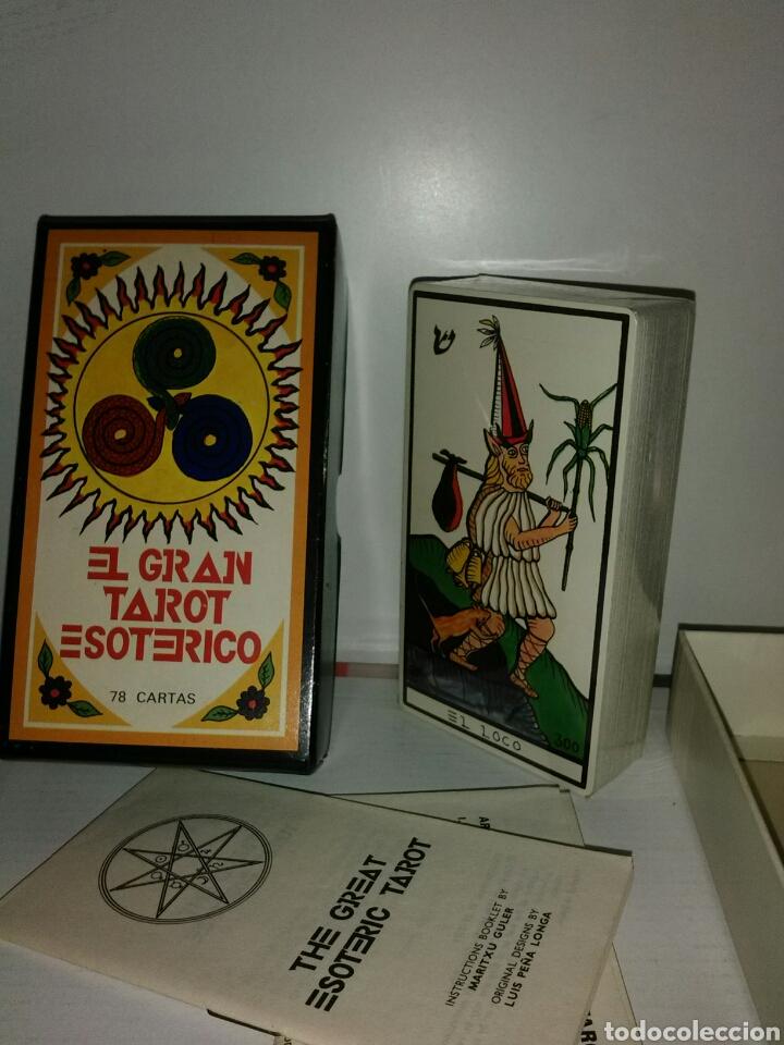 MUY DIFÍCIL NUEVO.TAROT ESOTÉRICO.PRECINTADO. (Juguetes y Juegos - Cartas y Naipes - Barajas Tarot)