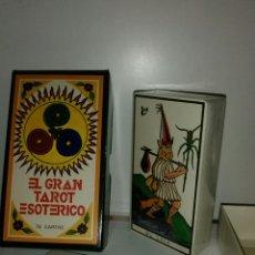 Barajas de cartas: MUY DIFÍCIL NUEVO.TAROT ESOTÉRICO.PRECINTADO.. Lote 169869001
