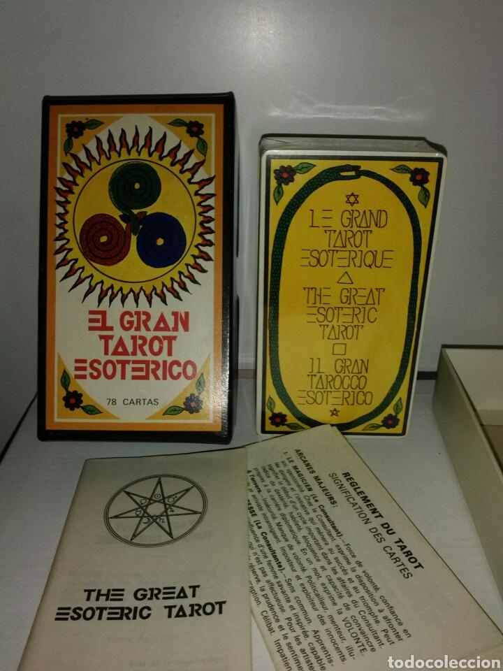 Barajas de cartas: MUY DIFÍCIL NUEVO.TAROT ESOTÉRICO.PRECINTADO. - Foto 3 - 169869001