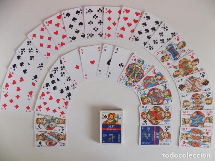LIBRERIA GHOTICA. BARAJA ALEMANA SKAT PREMIUM. 1990.POKER. (Juguetes y Juegos - Cartas y Naipes - Otras Barajas)