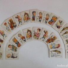 Barajas de cartas: LIBRERIA GHOTICA. RARA BARAJA INGLESA DEL SIGLO XIX. PERSONAJES TAROT.. Lote 169932980