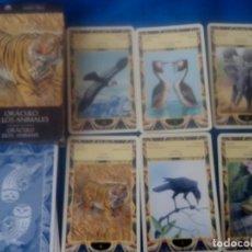 Barajas de cartas: ORACULO DE LOS ANIMALES ENVIO ORDINARIO GRATIS LEER. Lote 170012684
