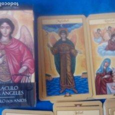 Barajas de cartas: TAROT ORACULO DE LOS ANGELES. Lote 170016596