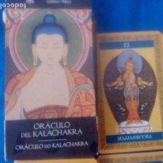 Barajas de cartas: TAROT ORACULO DEL KALACHAKRA ENVIO ORDINARIO GRATIS. Lote 170017356