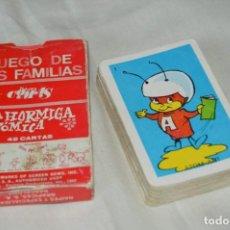Barajas de cartas: LA HORMIGA ATÓMICA - NAIPES COMAS - AÑOS 60 - JUEGO DE CARTAS INFANTIL - ¡MIRA FOTOS Y DETALLES!. Lote 170021560