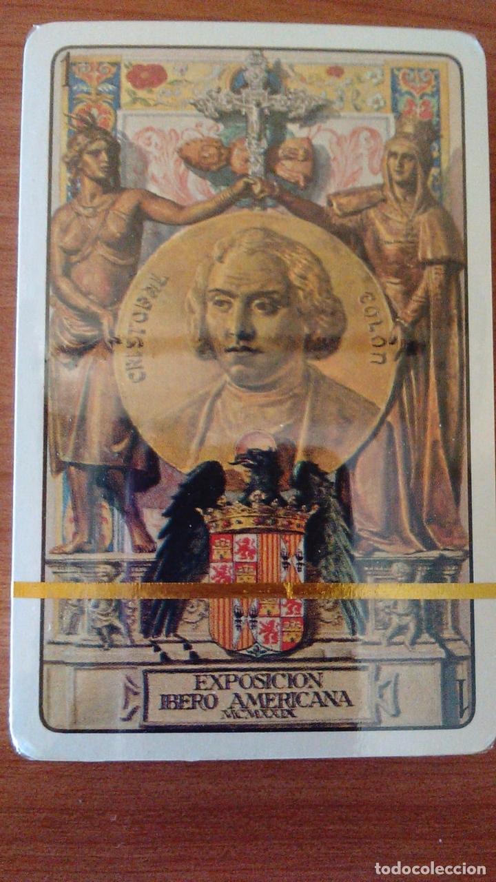 Barajas de cartas: ESTUCHE CON BARAJA IBEROAMERICANA PRECINTADA REEDICION DE 1979. - Foto 2 - 170267996