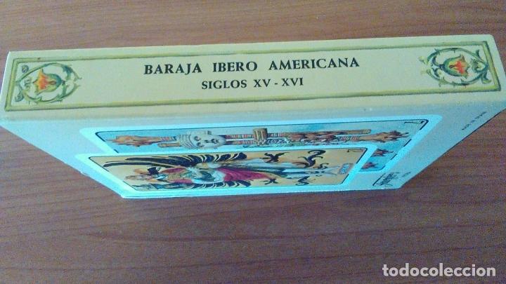 Barajas de cartas: ESTUCHE CON BARAJA IBEROAMERICANA PRECINTADA REEDICION DE 1979. - Foto 4 - 170267996