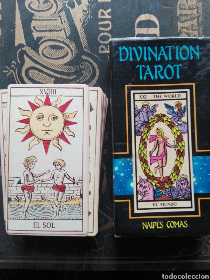CARTAS DEL TAROT DIVINATION TAROT NAIPES COMAS (Juguetes y Juegos - Cartas y Naipes - Barajas Tarot)