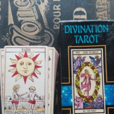 Barajas de cartas: CARTAS DEL TAROT DIVINATION TAROT NAIPES COMAS. Lote 170512753