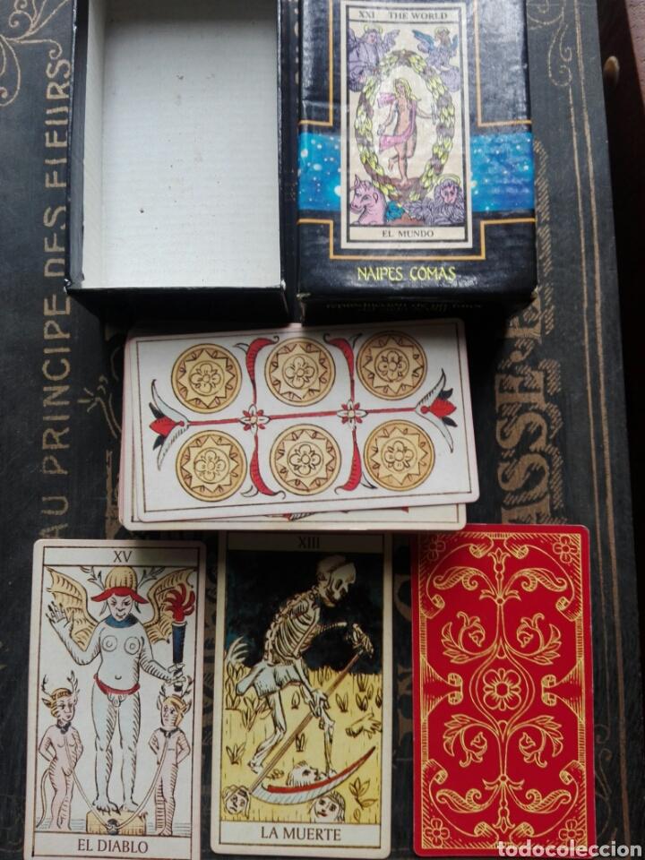 Barajas de cartas: Cartas del tarot Divination Tarot Naipes Comas - Foto 2 - 170512753