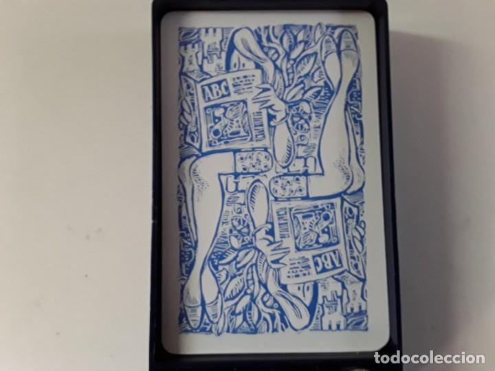 Barajas de cartas: Conjunto de juego de mus de Mingote con amarracos y posavasos también de Mingote. ABC - Foto 10 - 170524780