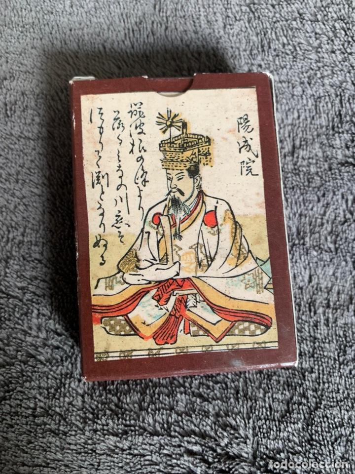 Barajas de cartas: Baraja Hyakunin isshu uta karuta, Japón, siglo XII - Foto 2 - 170561136