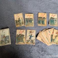 Barajas de cartas: BARAJA DE LAS BANDERAS,1814, TEMA MILITAR, COLECCION FOURNIER. Lote 170564614